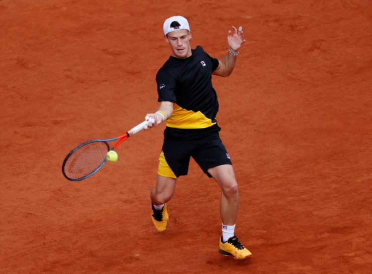 Diego Schwartzman at French Open 2020