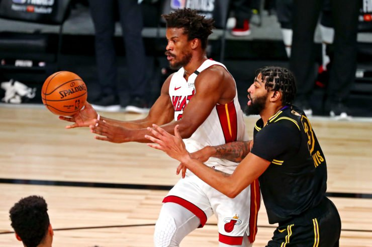 Los Angeles Lakers vs Miami Heat: Jimmy Butler and Anthony Davis