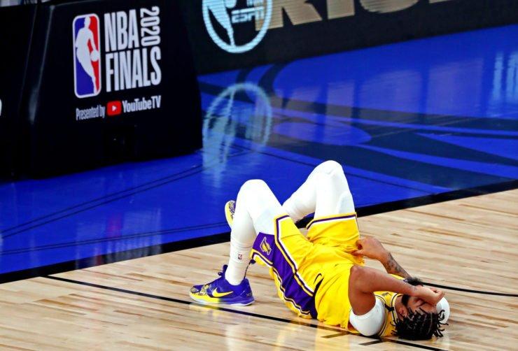 Anthony Davis ankle injury
