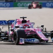 Sergio Perez During The Russian GP Practice
