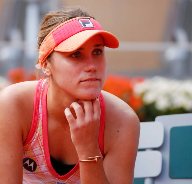 Sofia Kenin disappointed after her loss in the French Open 2020 final