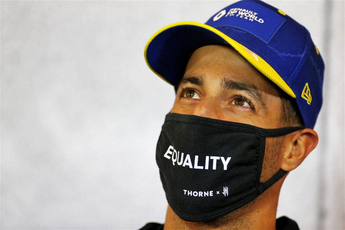Daniel Ricciardo about concentration with Men's Health