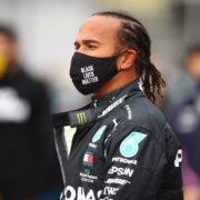 Lewis Hamilton prior to the start of Eifel Grand Prix