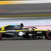 Daniel Ricciardo during the Eifel GP