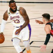 Los Angeles Lakers LeBron James in 2020 NBA Finals