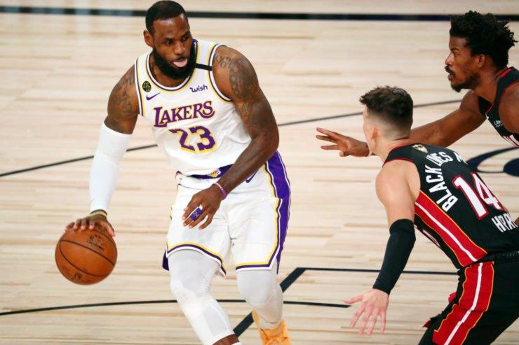 LeBron James in 2020 NBA Finals