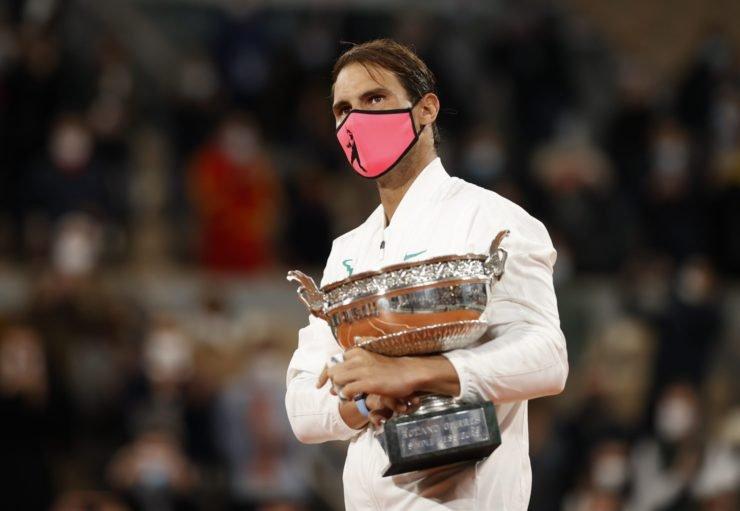 纳达尔在法国网球公开赛2020