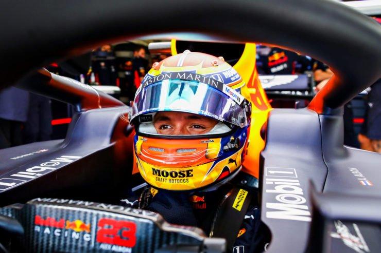 Alex Albon needs to buckle up post Nurburgring