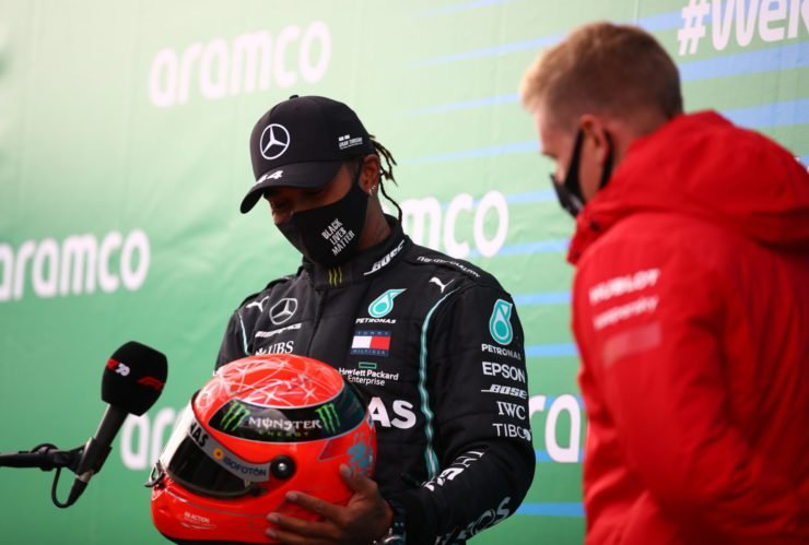 Lewis Hamilton and Schumacher contrast points by Ross Brawn
