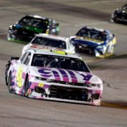 Jimmie Johnson in action in NASCAR Cup Series