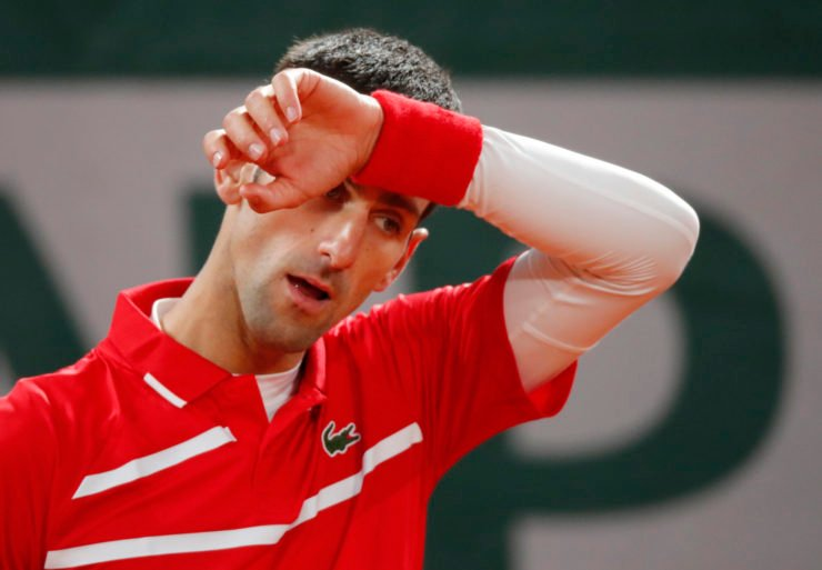 Novak Djokovic failed to put up a fight in the French Open 2020