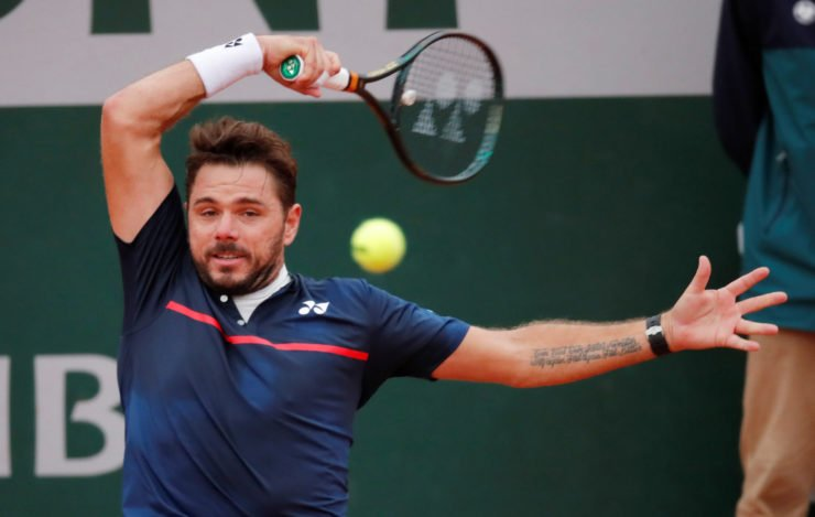 Stan Wawrinka at french Open 2020