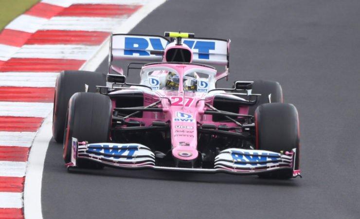 Racing Point driver Nico Hulkenberg during the Eifel GP race