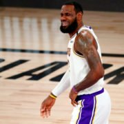 LeBron James during NBA Finals