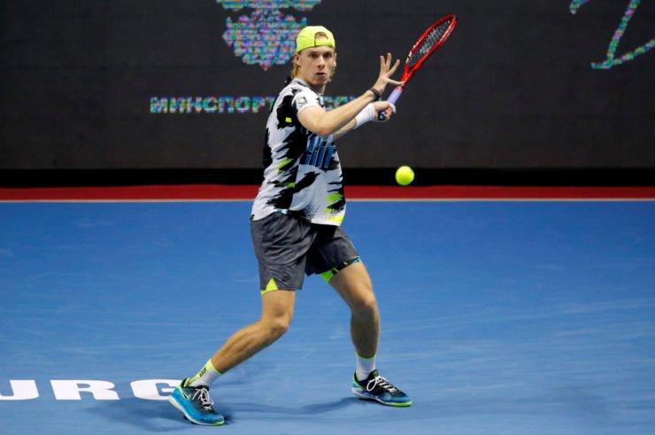 Denis Shapovalov at the St. Petersburg Open 2020