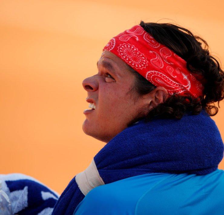 Milos Raonic at the Italian Open 2020