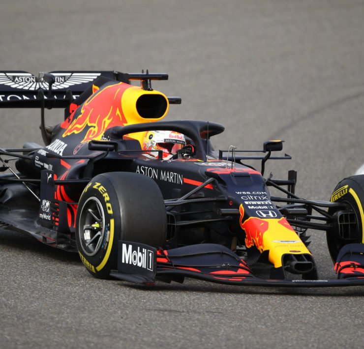 Red Bull driver Max Verstappen during the Eifel GP
