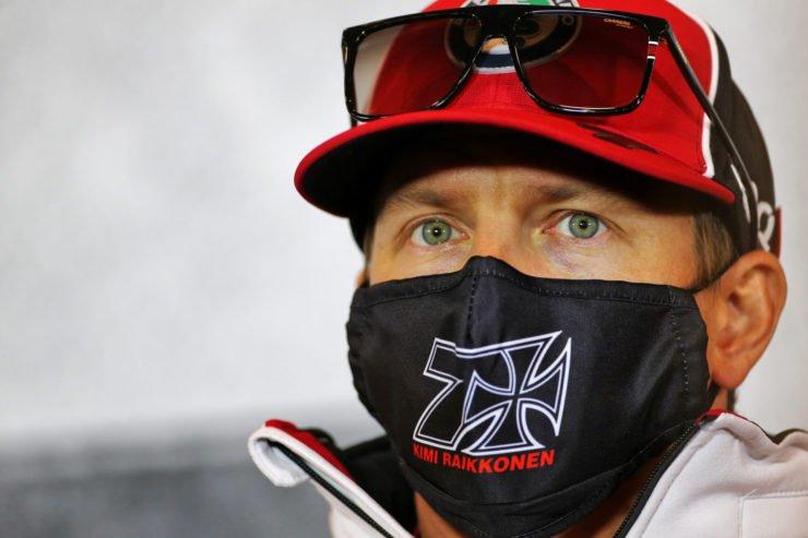Kimi Raikkonen at a press conference prior to the Eifel GP