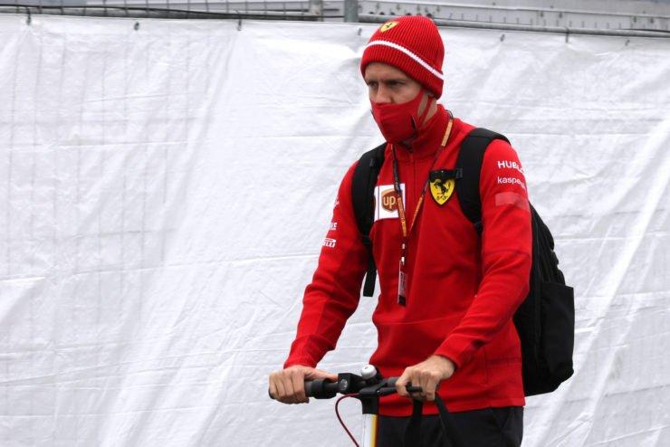 Sebastian Vettel has lesser points than Hulkenberg in his past 7 races
