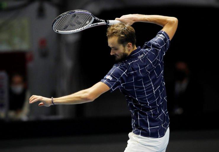 Daniil Medvedev at St Petersburg Open