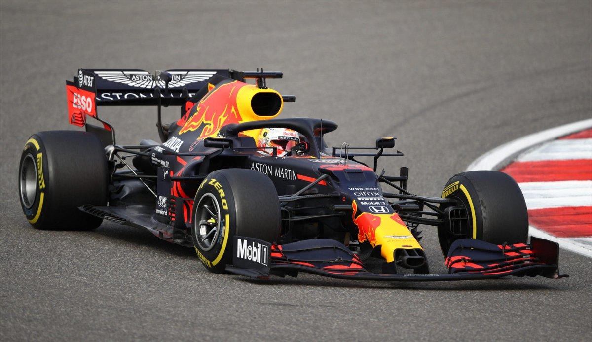 Red Bull's Max Verstappen during the Eifel GP