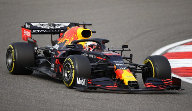 Red Bull's Max Verstappen during the Eifel GP