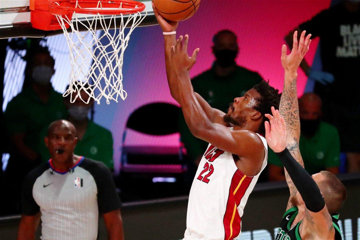 Jimmy Butler of Miami Heat