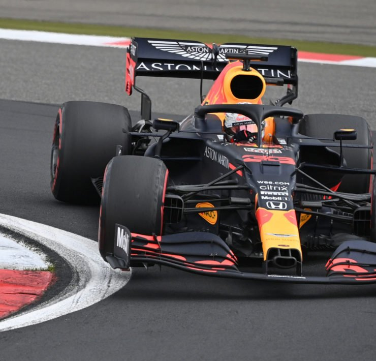 Red Bull F1 driver Max Verstappen during the Eifel GP race