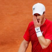 Andy Murray after his French Open loss