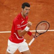 Novak Djokovic at French Open