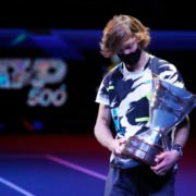 Andrey Rublev at the ST. Petersburg Open 2020