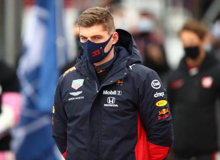 Max Verstappen fuming over the radio after the collision