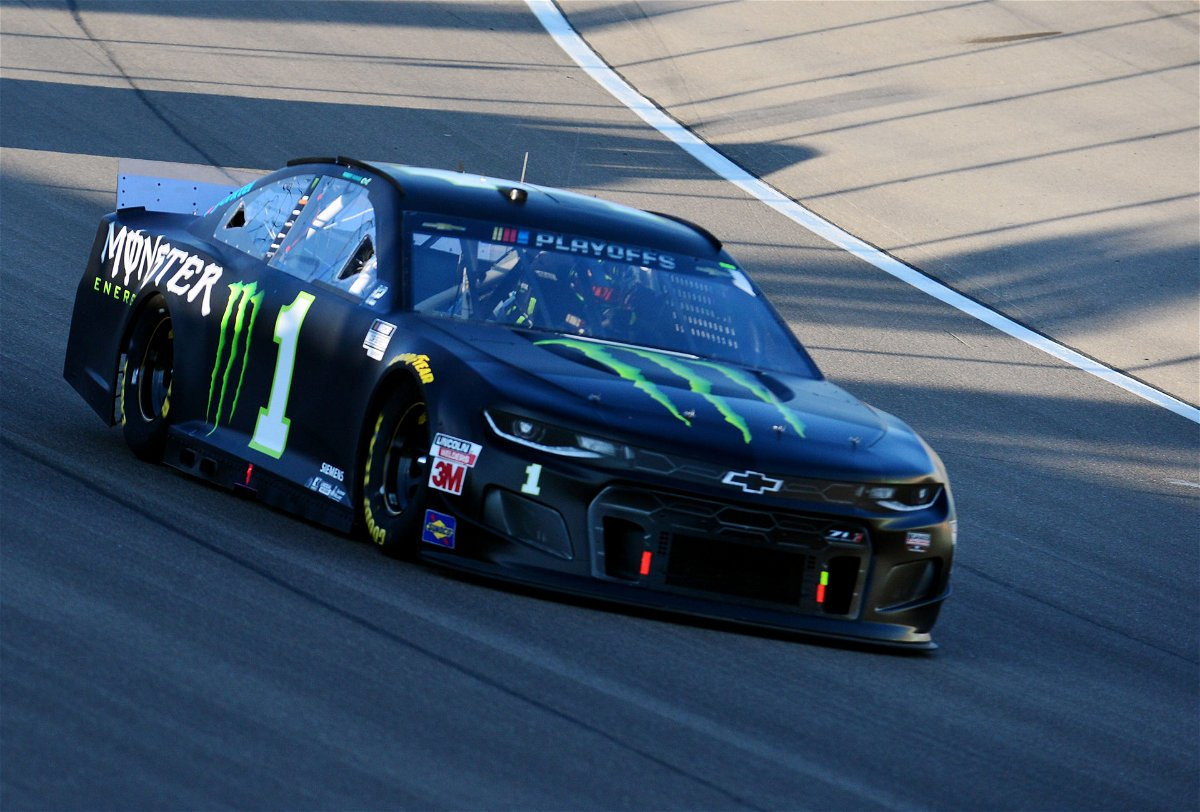 Kurt Busch in action in NASCAR Cup Series