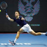 Borna Coric at St Petersburg Open