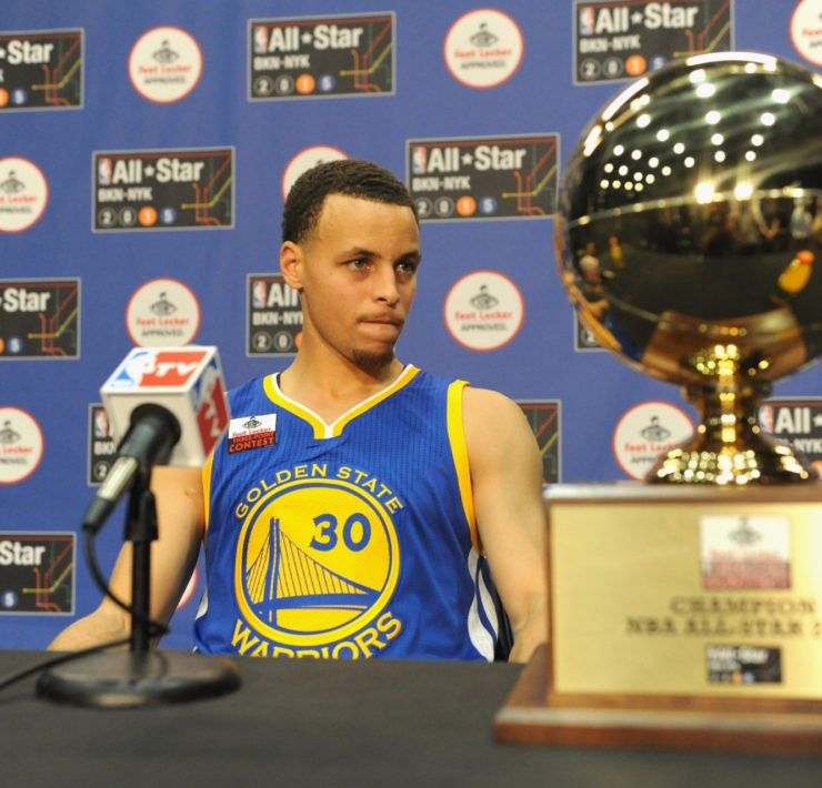 Golden State Warriors' star Stephen Curry