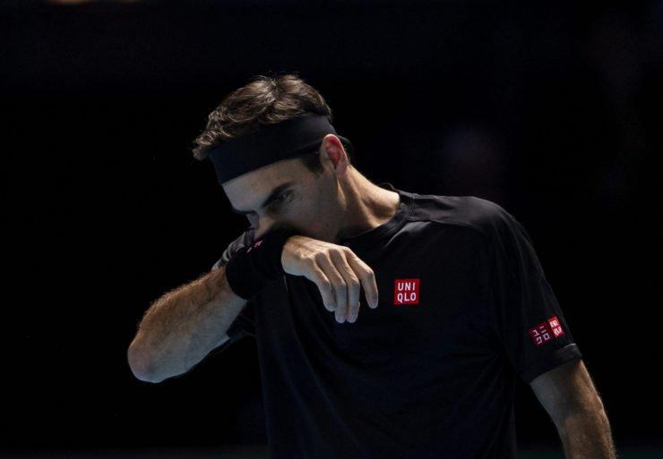 Roger Federer at Nitto ATP Finals