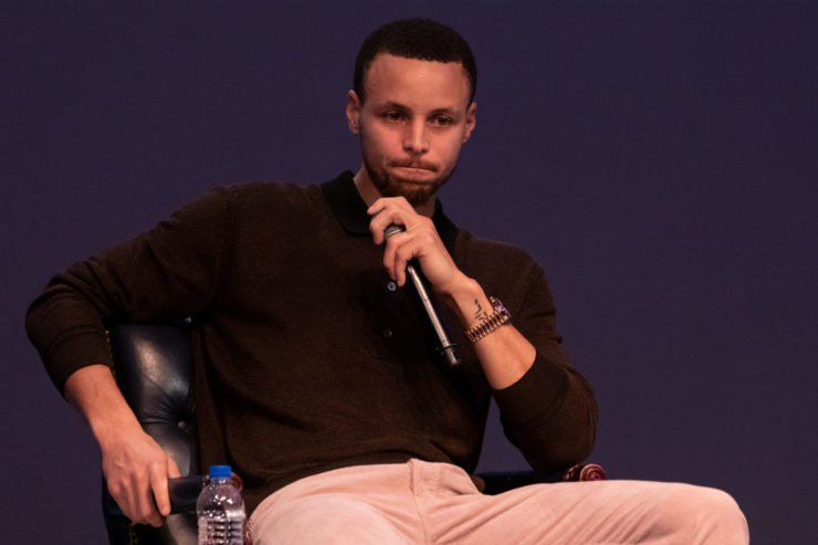 NBA superstar Stephen Curry