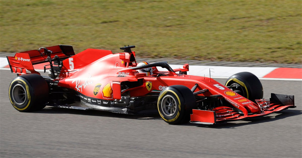 Ferrari no. 5 at Eifel Grand Prix