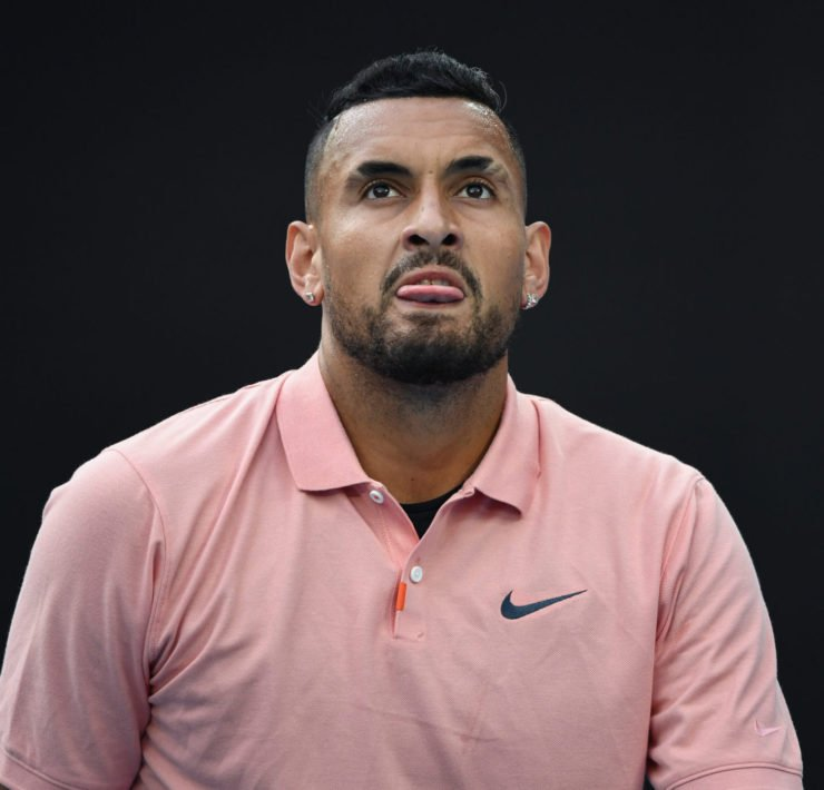 Nick Kyrgios at the Australian Open 2020