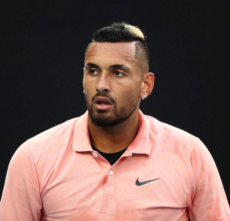Nick Kyrgios at Australian Open 2020
