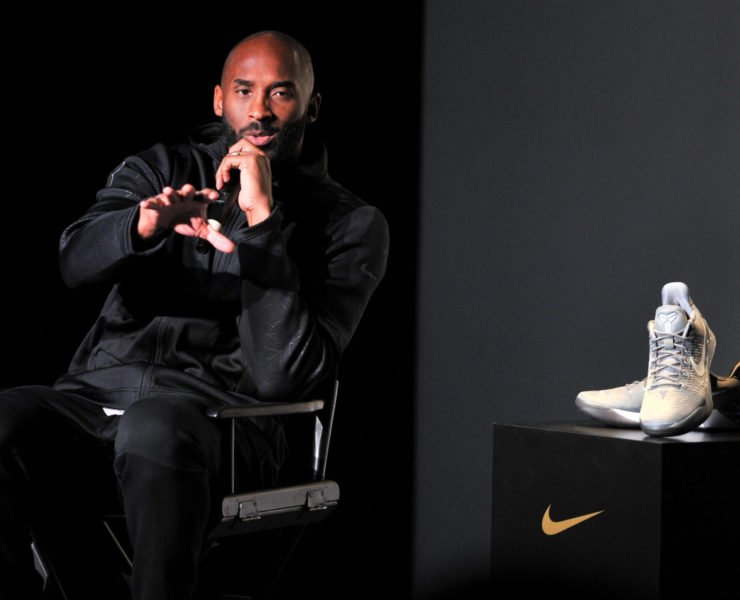 Kobe Bryant at a Nike promotional event