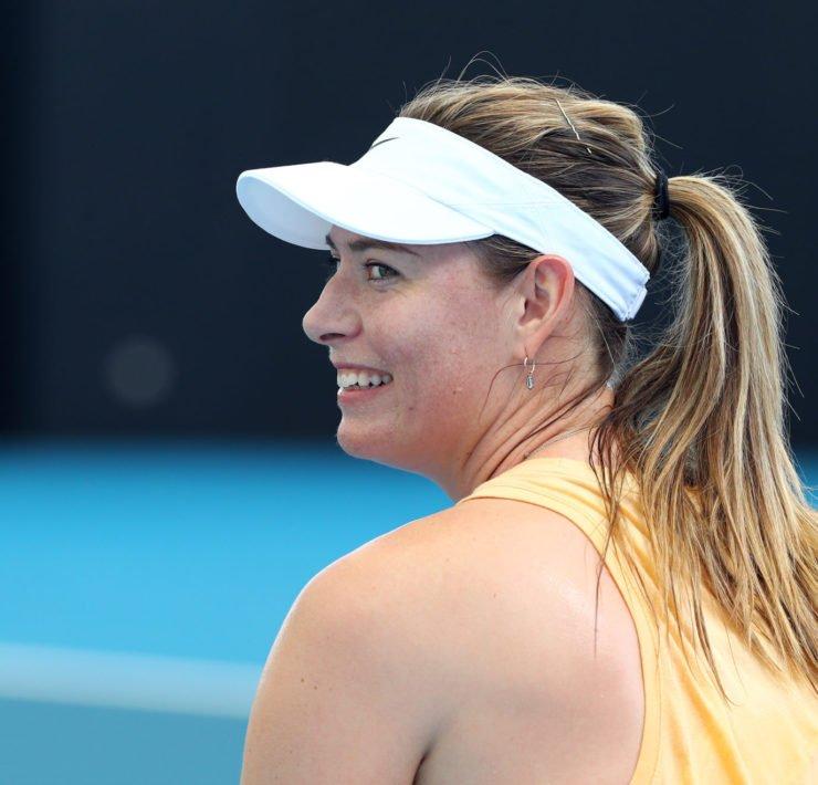 Maria Sharapova - Brisbane Previews