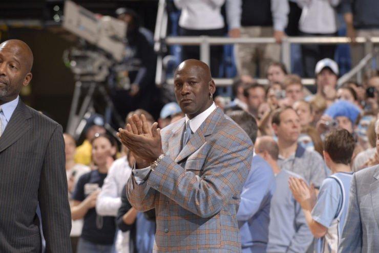 NBA Hall of Famer Michael Jordan