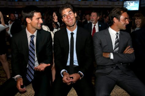 <p>Novak Djokovic Reiterates the Importance of Roger Federer and Rafael Nadal in His Career thumbnail