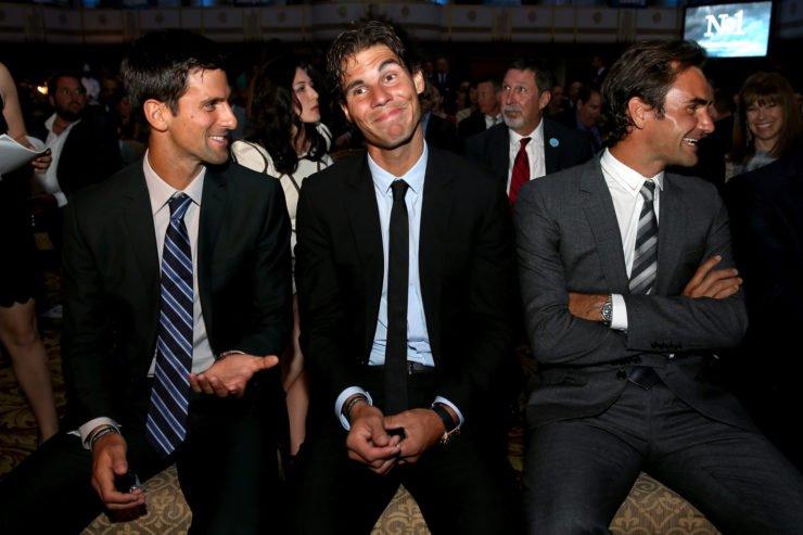 Big 3 - Novak Djokovic, Rafael Nadal, Roger Federer