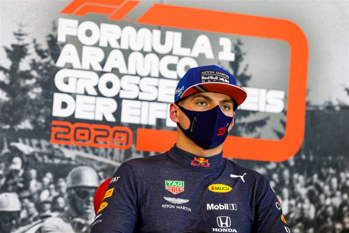 Verstappen responds to the crash during FP2 in Portimao