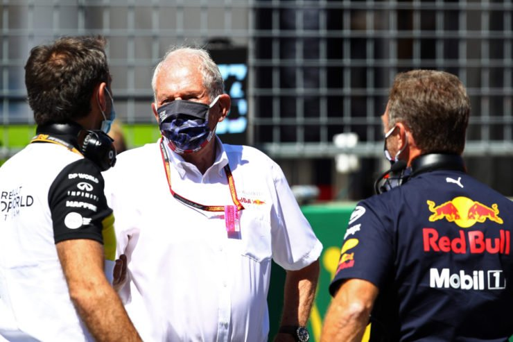 Red Bull advisor Helmut Marko in the paddock prior to the F1 race in Austria