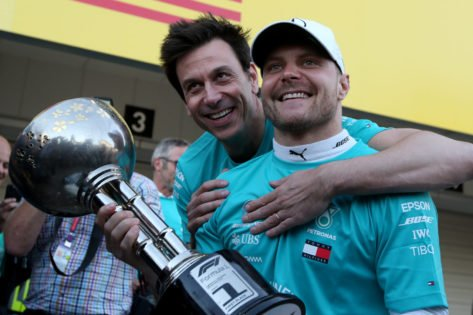 WATCH: Toto Wolff Calls Out F1 Reporter for Neglecting Valtteri Bottas' Turkish GP Win