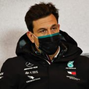 Mercedes' Toto Wolff during the press conference at Eifel Grand Prix 2020