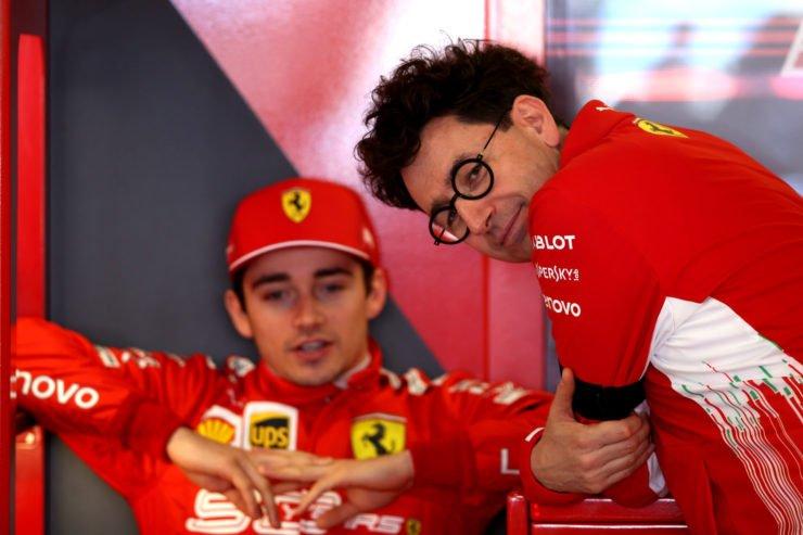 查尔斯·勒克莱尔和马蒂亚比诺托之前的2019澳大利亚大奖赛